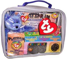 ty-beanie-club-platinum-tasche-mit-exclusiven-bar-teddy-blau-collector-beanie-coin-collector-cards-i