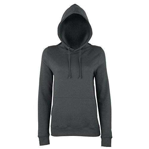 AWDis Just Hoods - Sweatshirt à capuche - Femme Gris foncé