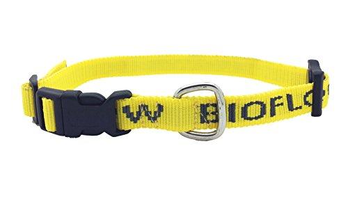 Bioflow 45cm Magnetisches gelbes Hundehalsband Klein