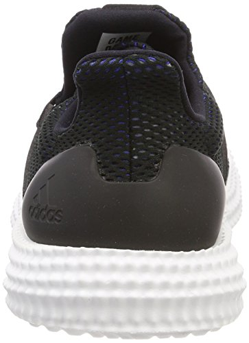 adidas Athletics 24, Chaussures de Fitness Mixte Adulte Noir (Core Black/core Black/hi-res Blue S18 Core Black/core Black/hi-res Blue S18)