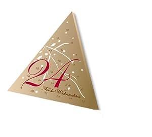 200022 - Adventskalender ePralinchen mit 24 hochwertigen belgischen Pralinen für eine süße Vorweihnachtszeit/Weihnachtsgeschenk für Frau oder Mann/Kalender mit Pralinen/Schokolade