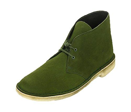 clarks-desert-boot-herren-desert-boots-kurzschaft-stiefel-stiefeletten-grun-leaf-suede-43-eu-9-herre