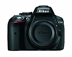 Nikon D5300 24. 2 MP CMOS Digital SLR Camera with Built-in Wi-Fi and GPS Body Only (Black)