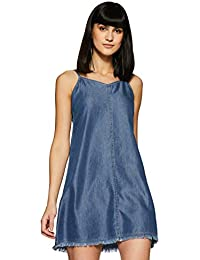 dd7ab71f06f2b0 Denim Women's Dresses: Buy Denim Women's Dresses online at best ...