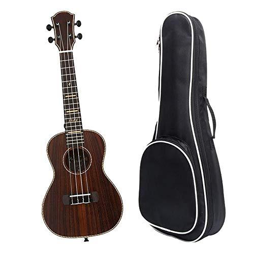 Ukulele 23 pollici concerto Ukulele Uke Hawaii bambini in palissandro professionale piccola chitarra con borsa Gig per bambini Adulti studenti principianti strumento musicale regali strisce modello