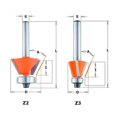 cmt-orange-tools-91026011-fresa-para-biselar-45-grados-hm-s-8-d-27x55