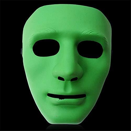 NUOKAI Karnevals-Balltanz-Hip-Hop-Maske Halloweens -