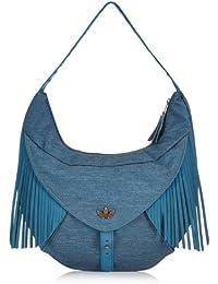 adidas Tasche Denim Hobo Bag, Triblu, 38 x 11 x 29 cm, F79480