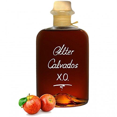 Alter Calvados X.O. 0,5L Euro 57,80/1L Aromatisch & sehr weich Apfel Brand Normandie