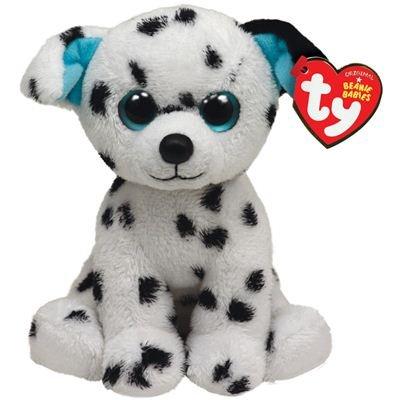 TY 7142053 - Hydrant - Dalmatiner weiß/schwarz, Hund, 15 cm, Beanie Babies
