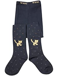 Weri Spezials Bebes et Enfants Chaton Collants Marine