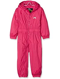 Trespass Children's Unisex Button Rain Suit