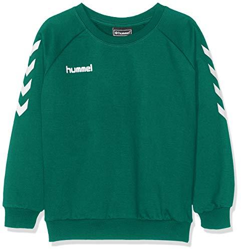 hummel Kinder Hmlgo Kids Cotton Sweatshirt, Grün (Evergreen), 164