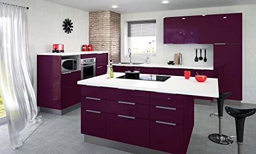 Berlenus CP8HA Mobile da cucina alto, 2 sportelli, 80 cm, colore ...