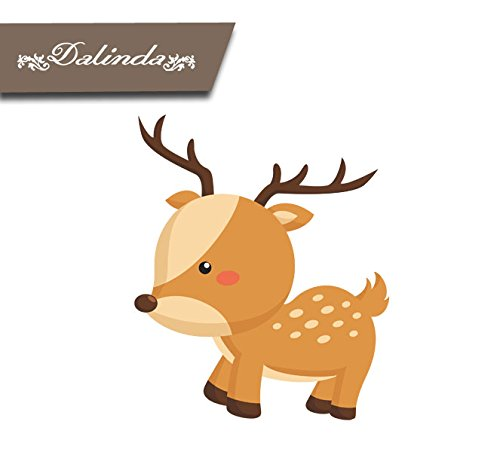 stag-wall-sticker-hennes-ds010-wall-sticker-wall-decoration