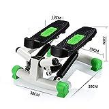 Twist Stepper Stepper inklusive Trainingsbänder / Stepper mit einstellbarem Widerstand und drahtlosem Trainingscomputer - Stepp-Down-Stepper für Anfänger und Fortgeschrittene Up-Down-Stepper