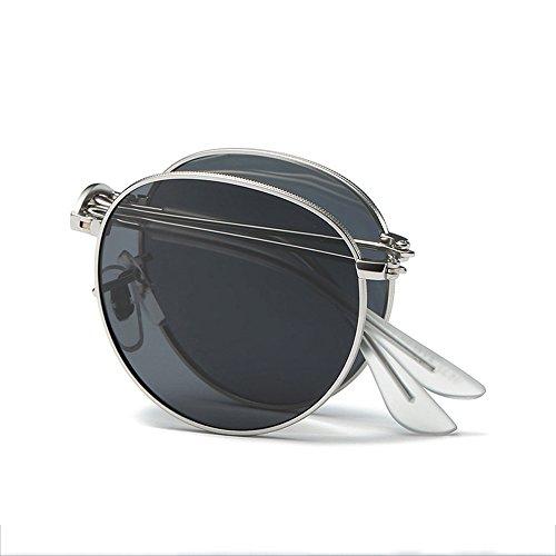 SEEKSUNG® New Polarisierte Sonnenbrille Fashion Colorful zusammenklappbar Brillen Metall Night Vision Gläser
