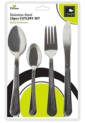 Image result for knight 16 pieces cutlery set