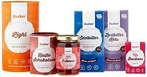 Xucker Probierset - zuckerarme und zuckerfreie Leckereien mit Xylit und...