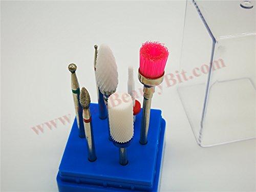 Preisvergleich Produktbild NBB Keramik und Diamantbohrer für Nagel,  elektrische Maniküre Bohrmaschine,  entfernen Sie das Gel und Panel