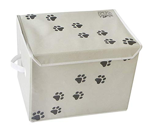 Feline Ruff Große Hunde Spielzeug Aufbewahrungsbox 40,6x 30,5cm Pet Spielzeug Aufbewahrungskorb mit - Für Hundespielzeug Kiste