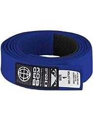 Bad Boy BJJ cinturón, Unisex, BJJ Belt, azul