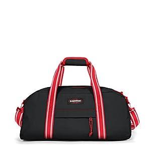 Eastpak Stand + Bolsa de Viaje, 53 cm, 34 Liters, Negro (Blakout Dark)