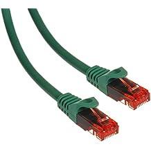 Maclean MCTV-300,301,302,303 - Cable patchcord Ethernet cable de conexión, 2x RJ45 UTP Cat6, 1.000 Mbit/s disponible en diferentes longitudes y colores (0,5m, G)
