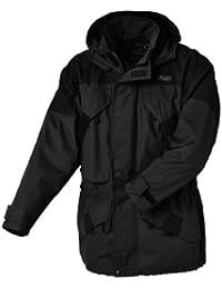 Pinewood Lappland Extrem - Chaqueta para hombre, color gris oscuro / negro, talla XXL