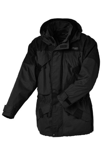 Pinewood Unisex Funktionsjacke Lappland Extrem, dunkelgrau/schwarz, XL, 9093