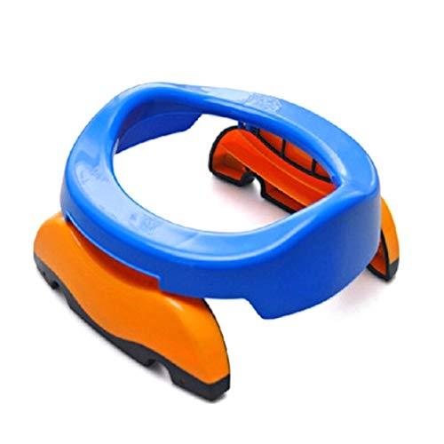 Aohua Populäre 1 Stück Baby Kunststoff WC-Sitz Kinder Bettpfannen Ring Kinder Töpfchen Training Toiletten tragbar Badezimmer Klappstuhl Komfortable Stuhl (Keine Abbildung Farbe) - Bad Sicherheit Wc-sitz Zubehör