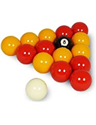 Table Games Indoor Play Snooker Billiards 2 League Pool Balls Set Reds/yellows by OSG