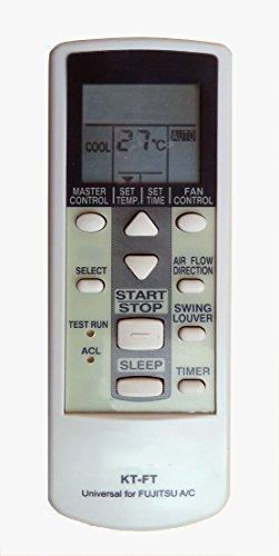 Mando a distancia Aire Acondicionado Climatizador Fujitsu–General Aire Acondicionado–Bomba de calor–Inversor Compatible...