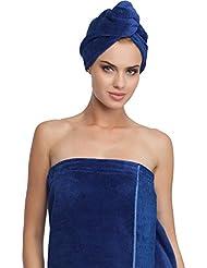 Merry Style Damen Wellness Turban 13007