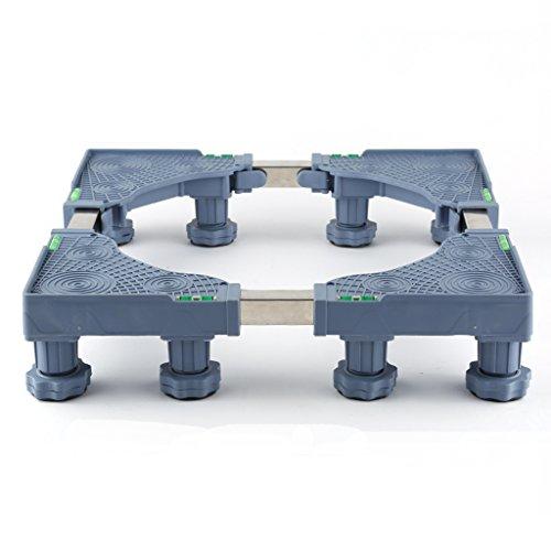 YXF, Basis für Möbelhandling Waschmaschinen-wasserdichte untere Stange, Fußgänger-Bein-Aktions-Stange, Universalrollen-Stand-Autofix, 39cm - 69cm * 48cm - 69cm * 11cm * 13cm Wow -