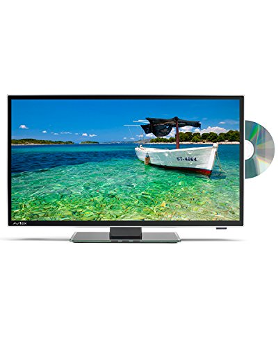 Avtex L187DRS Ultra Compact HD LED TV/DVD/Satellite 12V/24V - Black, 18.5 Inch
