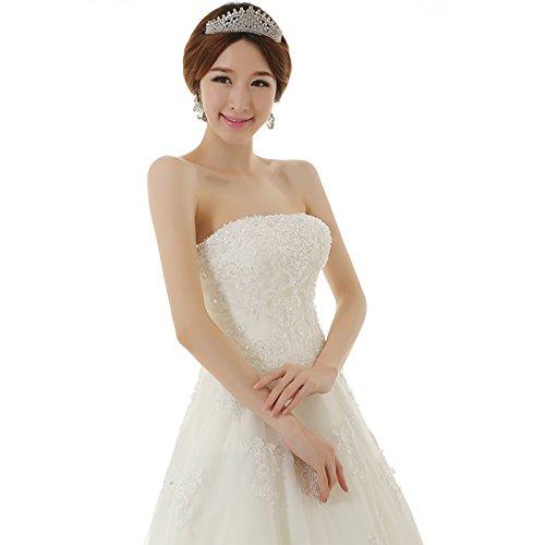 Robe de mariage sans bretelles Blanc
