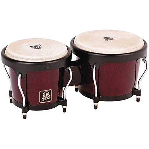 LP Latin Percussion LP810504 Aspire Wood Bongo Legno Scuro LPA601-DW