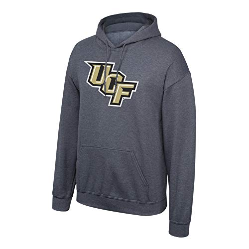 eLITe Fan Shop NCAA Men's Central Florida Golden Knights Hoodie Sweatshirt Dark Heather Icon Central Florida Golden Knights Dark Heather X Large Ucf Golden Knights