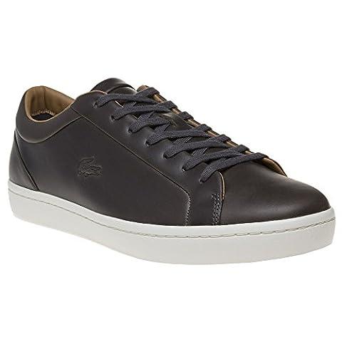 Lacoste Straight Set Herren Sneaker Grau