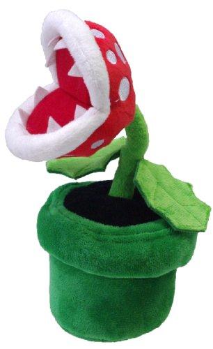 Peluche Super Mario: Planta piraña