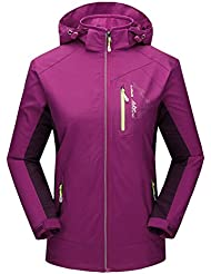 LaoZan - Chaqueta Softshell Alpina - Outdoor Impermeable y Cortaviento - Mujer - Color 2