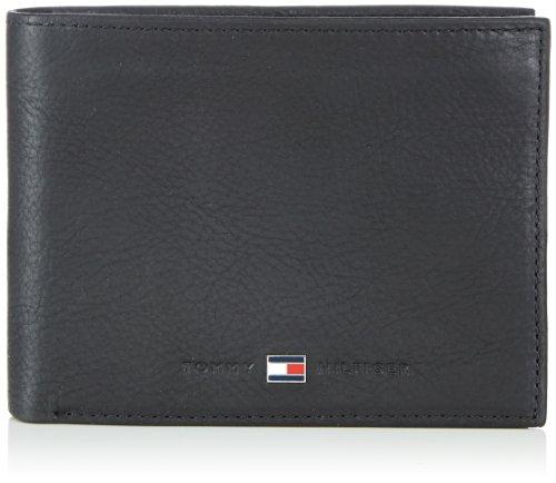 Tommy Hilfiger JOHNSON CC FLAP & COIN POCKET BM56923221 Herren Geldbörsen 14x10x2 cm (B x H x T) Schwarz (BLACK 990)