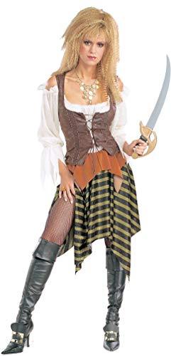 Rubie's Woman Pirate Wench Costume Adult Fancy Dress (Adult Pirate Wench Kostüm)