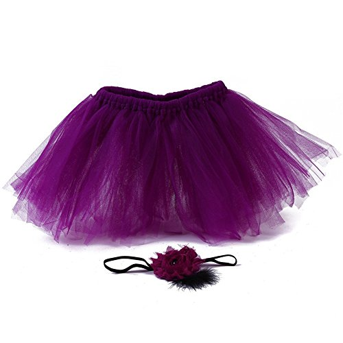 aby Rock Tutu Kleidung Trikot Kostüm Foto Prop Outfits Bekleidung Set (Mädchen Garn Baby Kleinkind Kostüme)