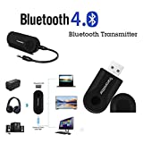Navizone Wireless Bluetooth 4.0 Transmitter BT400 Stereo Audio Music Adapter for MP4, TV