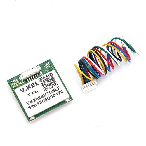 Ils - 1-5Hz VK2828U7G5LF Módulo GPS TTL Ublox con Antena