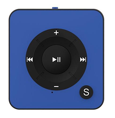 ermany Royal BC05 - Clip, Sport, Fitness Player, 15 Stunden Wiedergabe, USB Kabel, microSD Kartenslot für bis zu 32 GB microSD Karten - von Bertronic ()