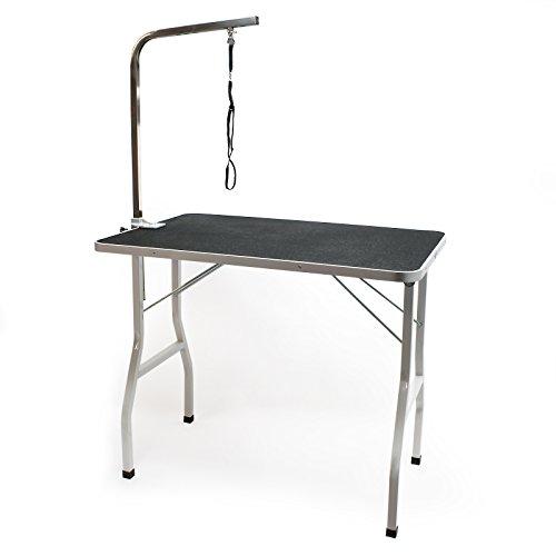 Wiltec Trimmtisch Schertisch Groomer-Tisch Tierpflegetisch
