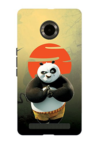 Kaira brand Designer Back case cover for Micromax Yu yuphoria Mobile(Panda)
